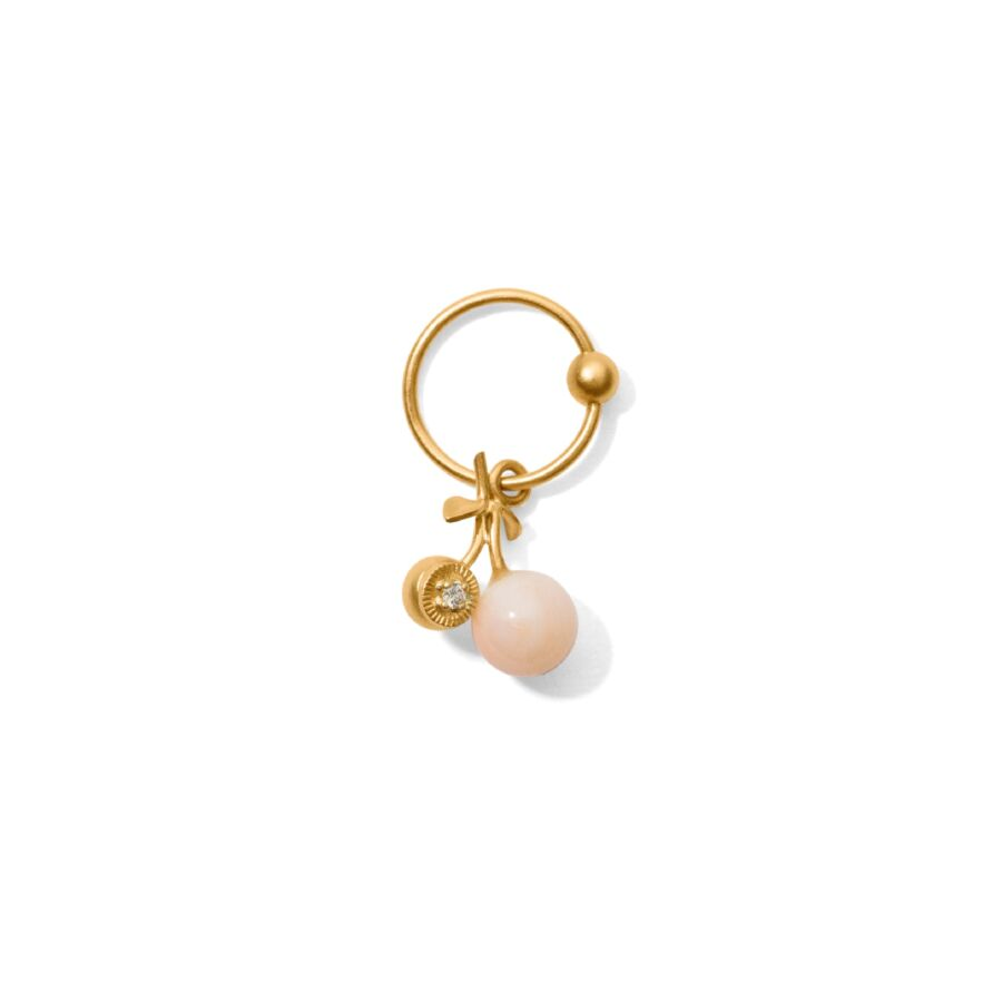 MISS ECHERRY TWO gold diamond pink coral