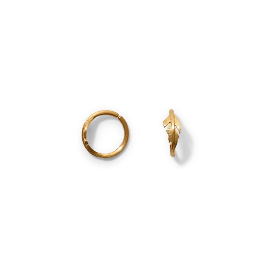 MISS ELLEGOOD ONE gold  ideal for helix piercings