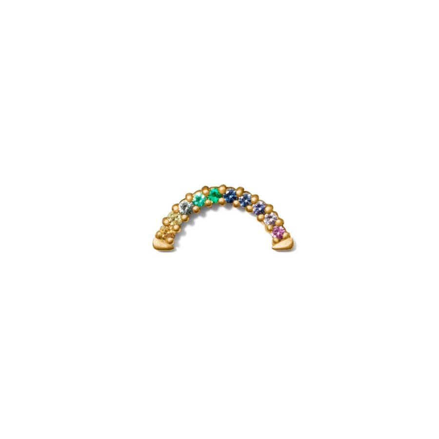 miss erainbow one gold multicoloured sapphire