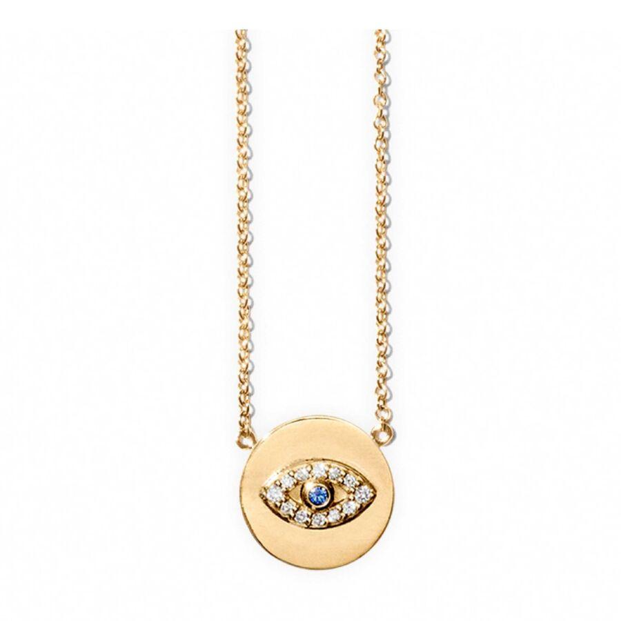 MISS NEE gold diamond sapphire