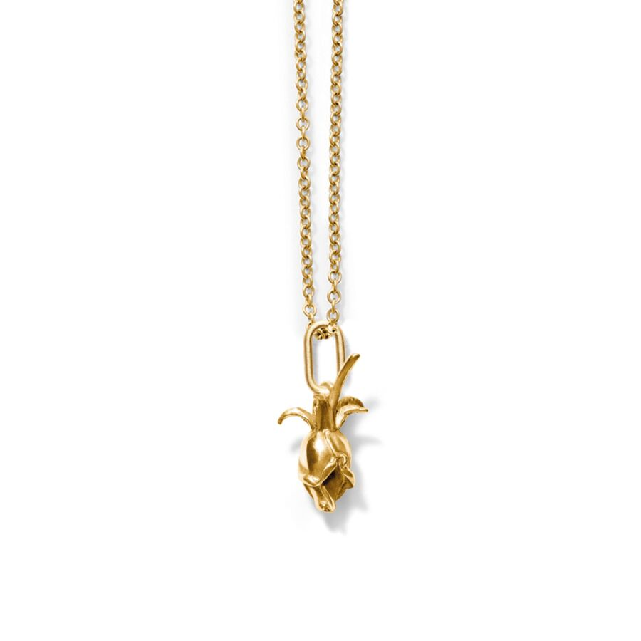 MISS PROSE gold (oval) </br></br> til halskæder