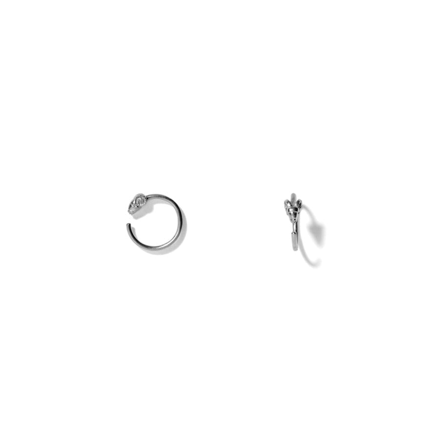 MISS EARLYWINE grey </p> ideal for helix piercings