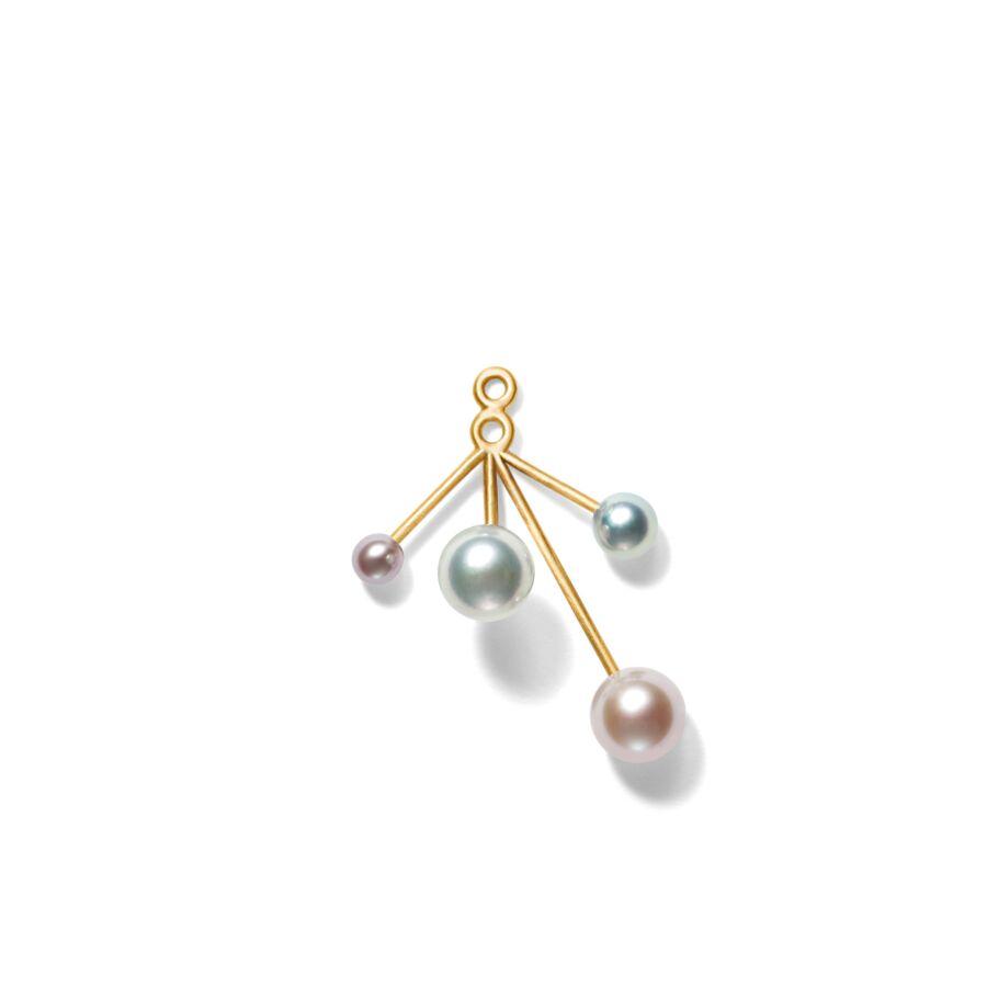 MISS ERIANNE gold pink/akoya pearl