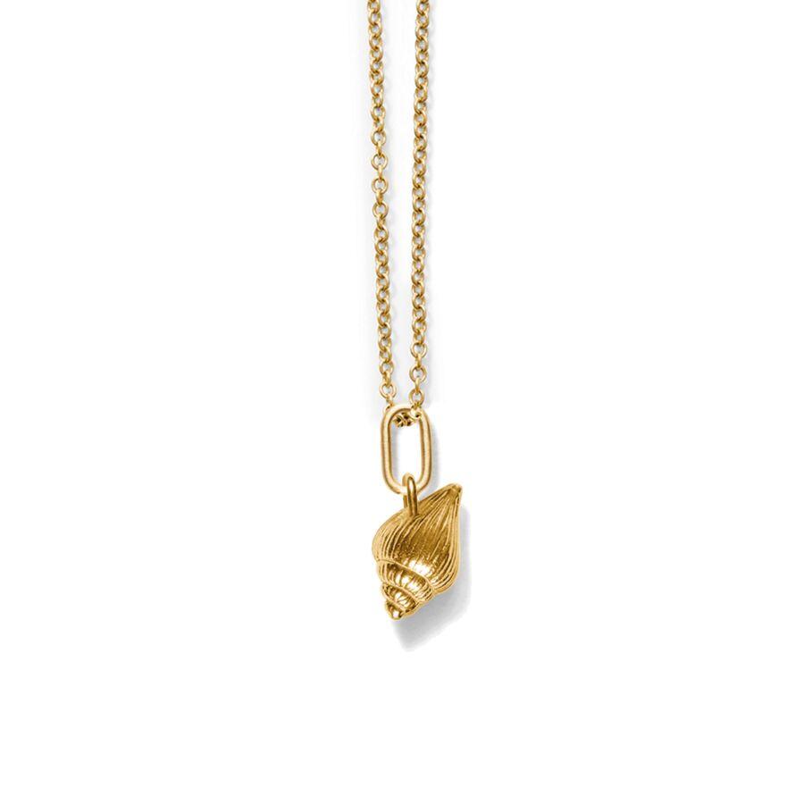 MISS PALVI gold (oval) </br></br> til halskæder