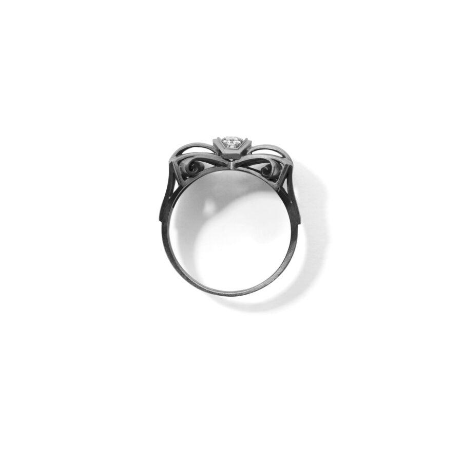 MISS ROYCE grey diamond