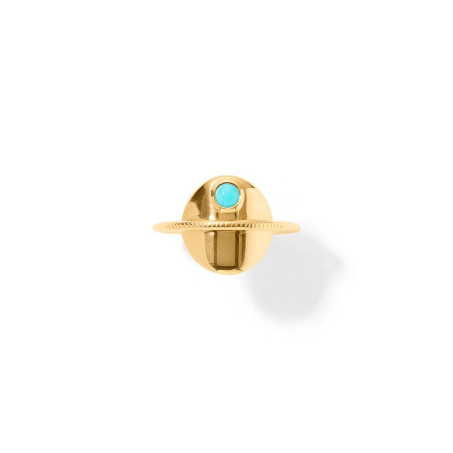 MISS ROSENI gold turquoise