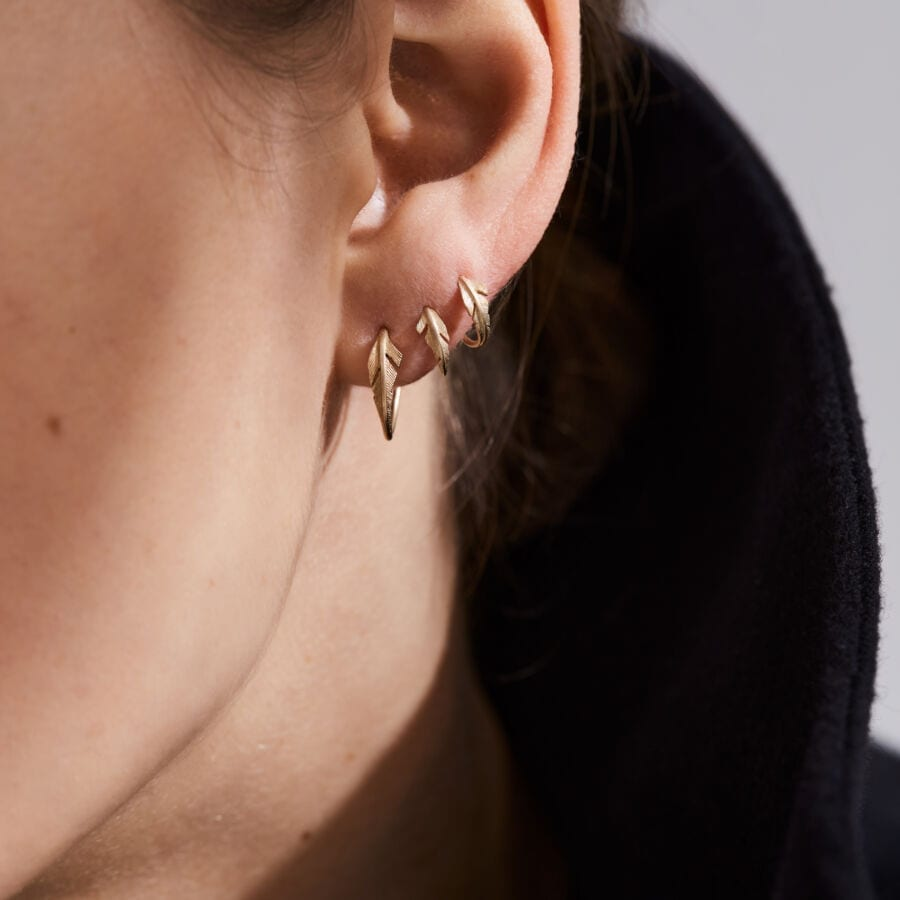 MISS ELLEGOOD ONE gold <br> ideal for helix piercings